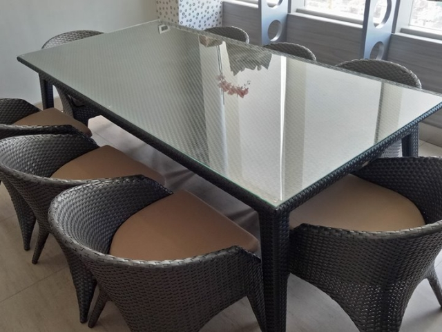 Almira 8 Seaters Dining Set